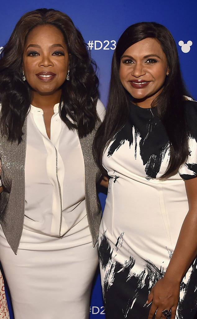 Oprah Winfrey, Mindy Kaling