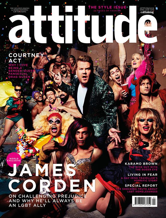James Corden, Attitude