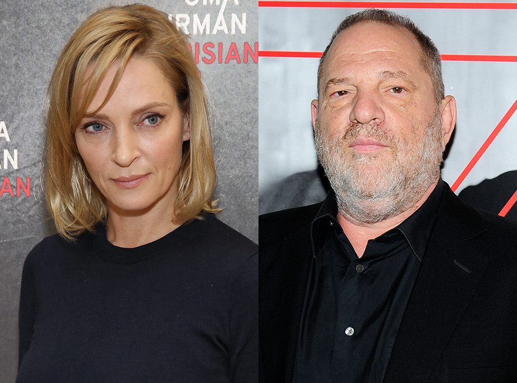 Uma Thurman, Harvey Weinstein