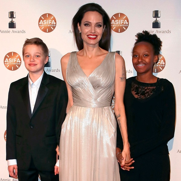 Angelina Jolie and Brad Pitt's Kids Through the Years