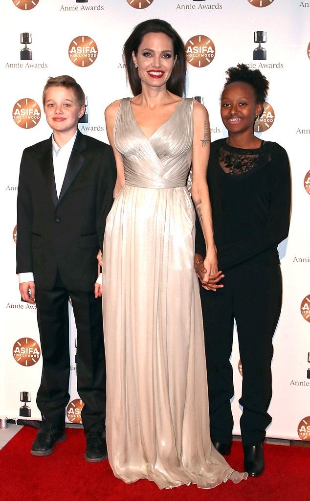 Angelina Jolie, Zahara, Shiloh Jolie-Pitt