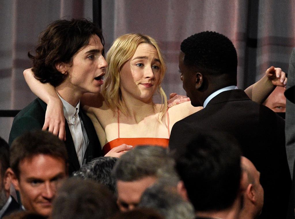 Timothée Chalamet, Saoirse Ronan & Daniel Kaluuya from The