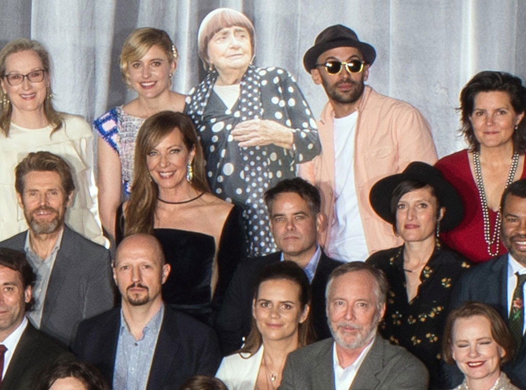 2018 Oscar Nominee Luncheon, Class Photo, Agnes Varda