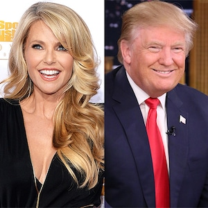 Christie Brinkley, Donald Trump
