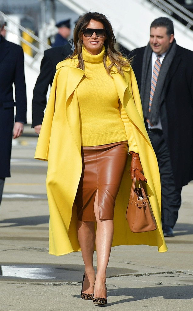 Sunny Smiles From Melania Trump 39 S Best Looks E News