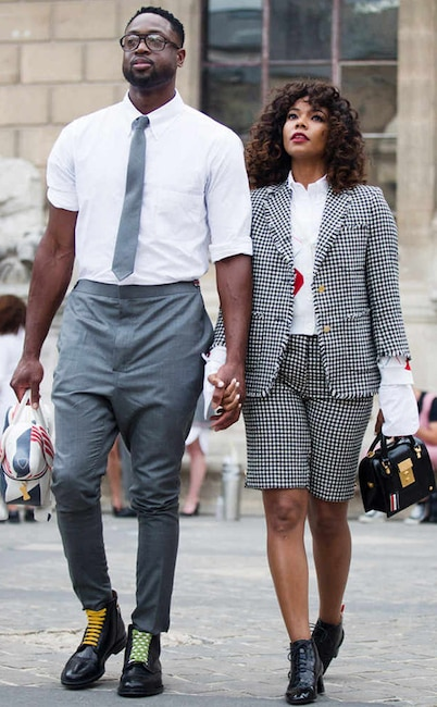 ESC: Gabrielle Union, Dwyane Wade, Couple Style