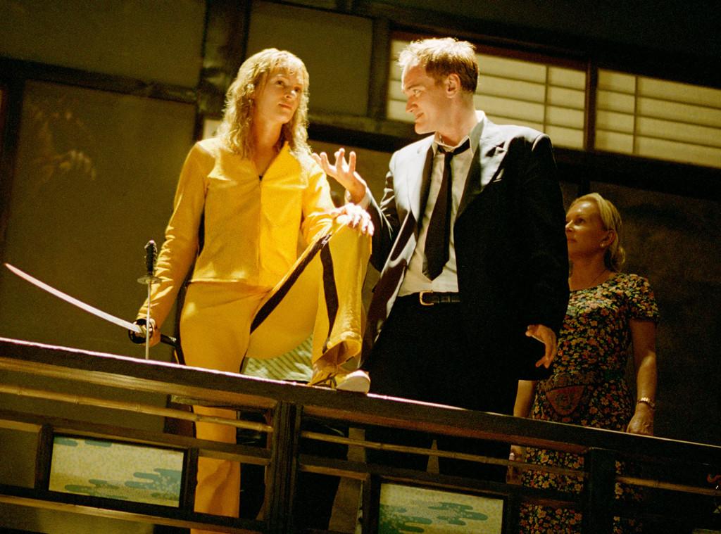 Uma Thurman, Quentin Tarantino, Kill Bill