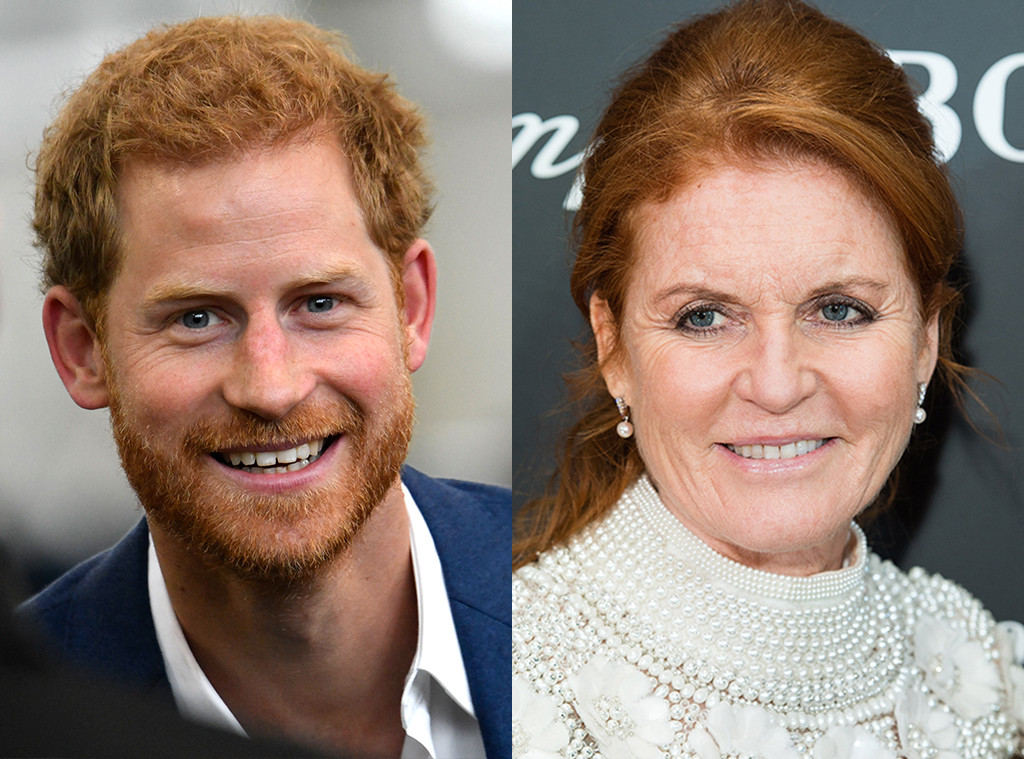 Prince Harry, Sarah Ferguson