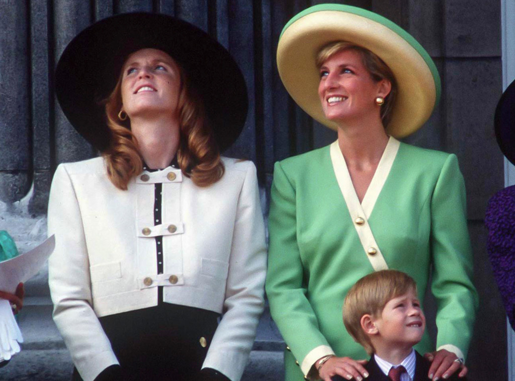 Princess Diana, Sarah Ferguson, Prince Harry