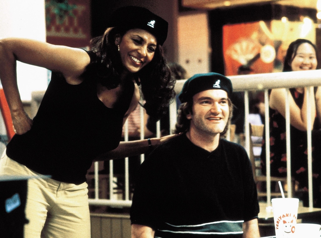 Pam Grier, Quentin Tarantino, Jackie Brown
