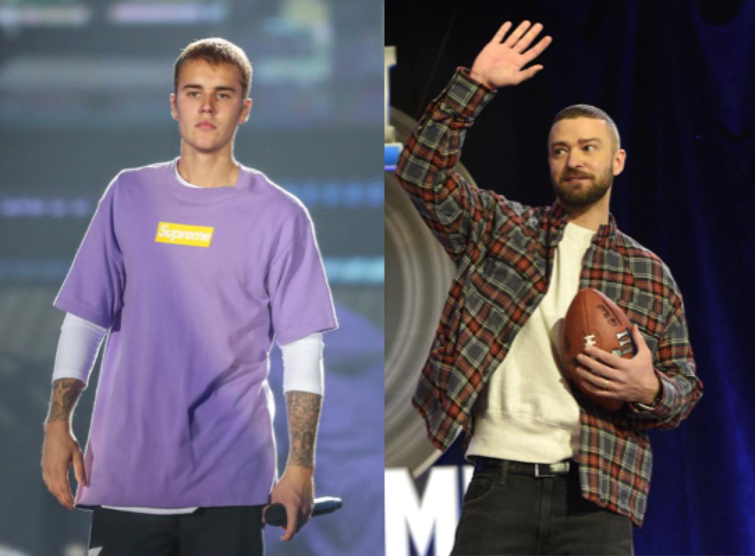 Justin Bieber, Justin Timberlake