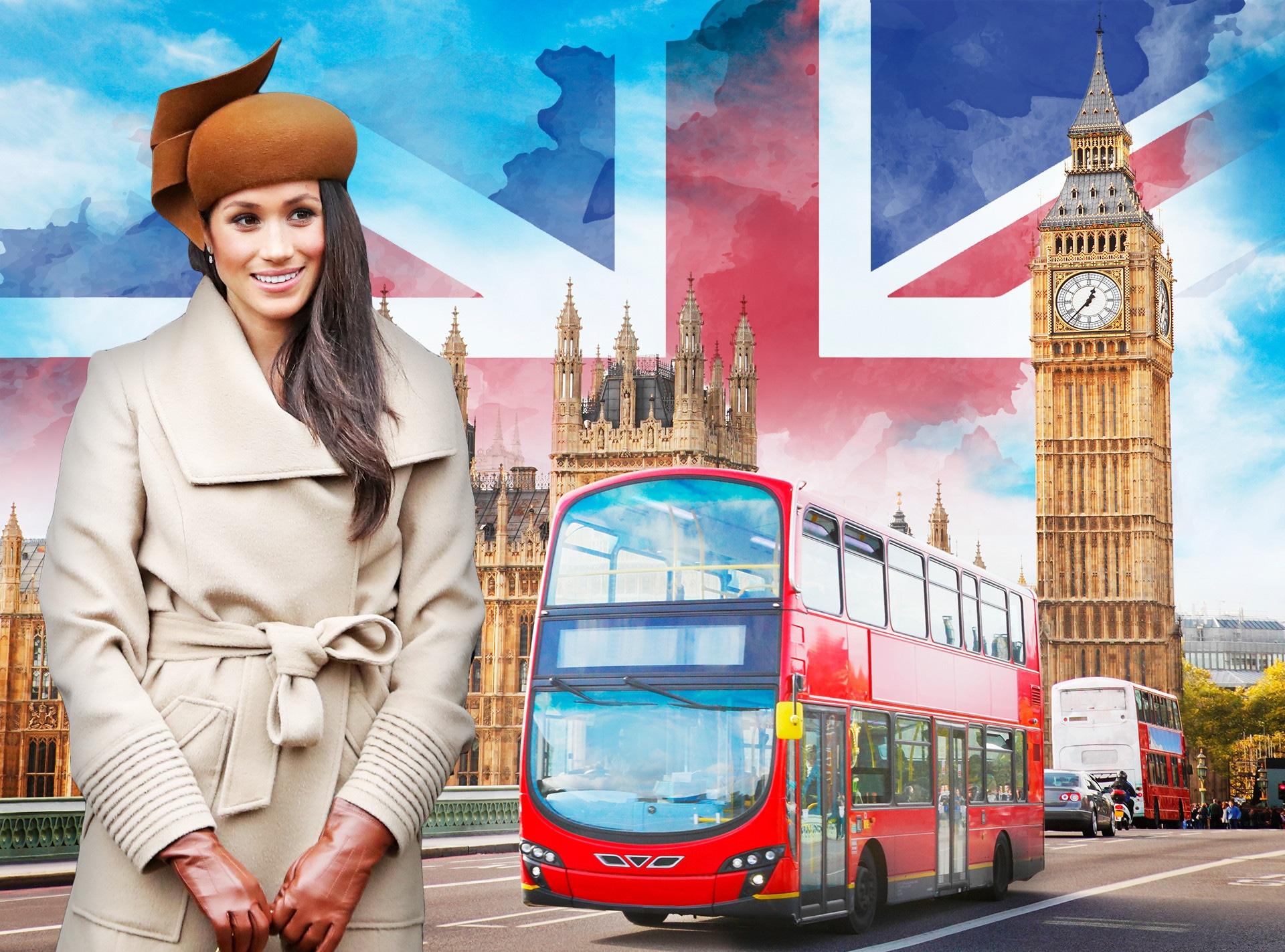 Meghan Markle, London Tourism