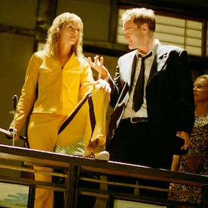 Uma Thurman, Quentin Tarantino, Kill Bill