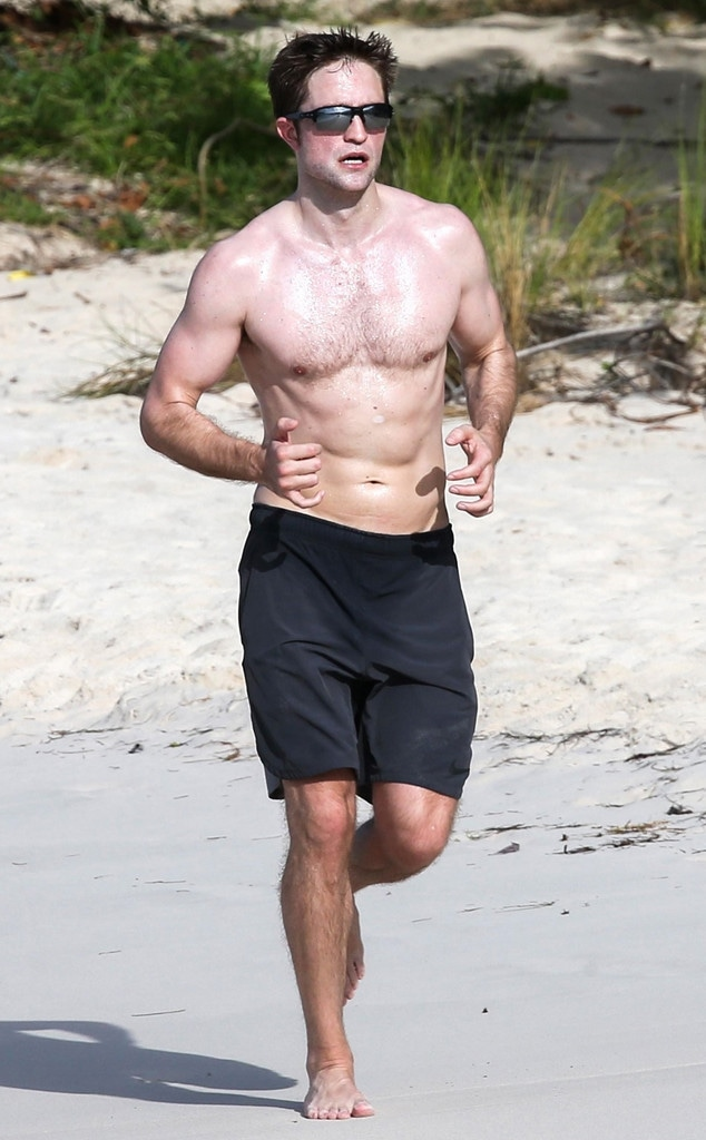 Robert Pattinson, Shirtless