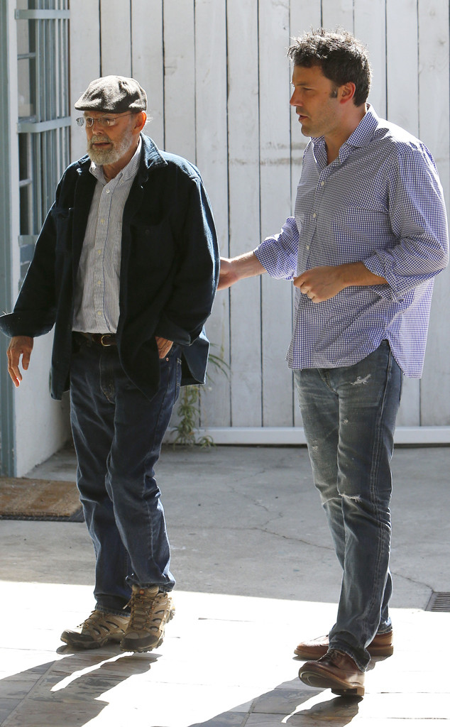 Ben Affleck și tatăl său, Timothy