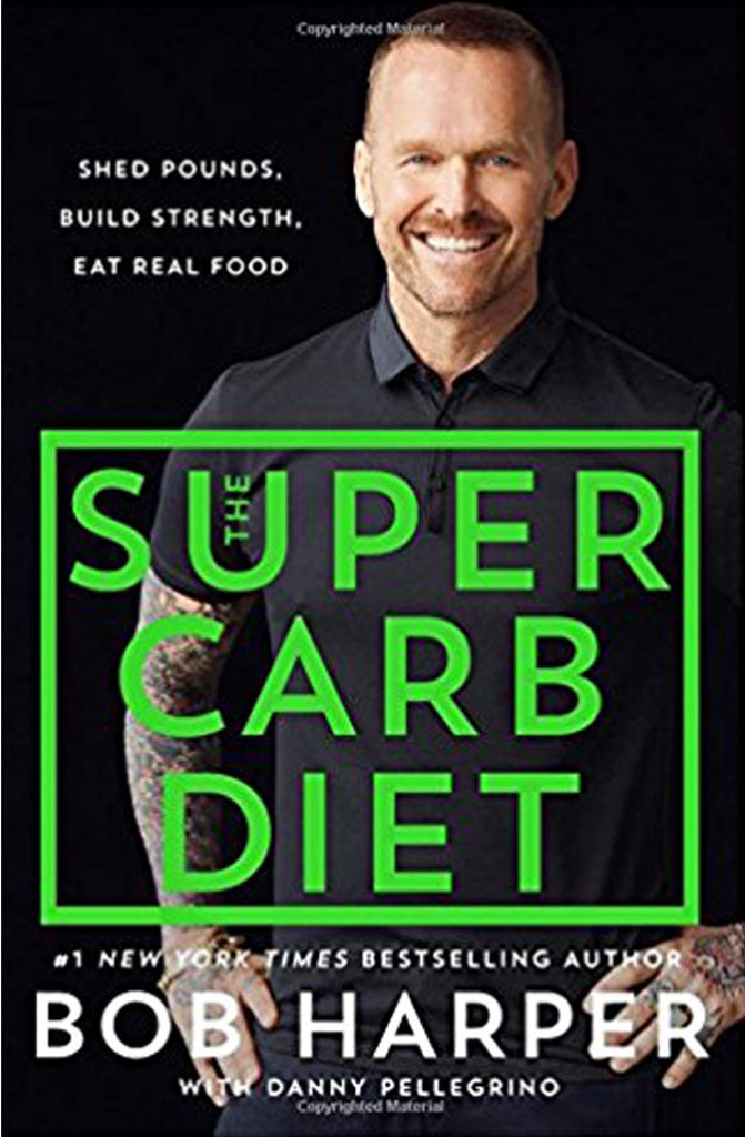 Bob Harper, book, Super Carb Diet