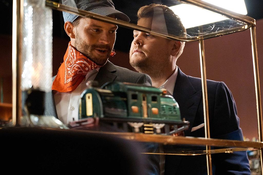 Jamie Dornan, James Corden, The Late Late Show