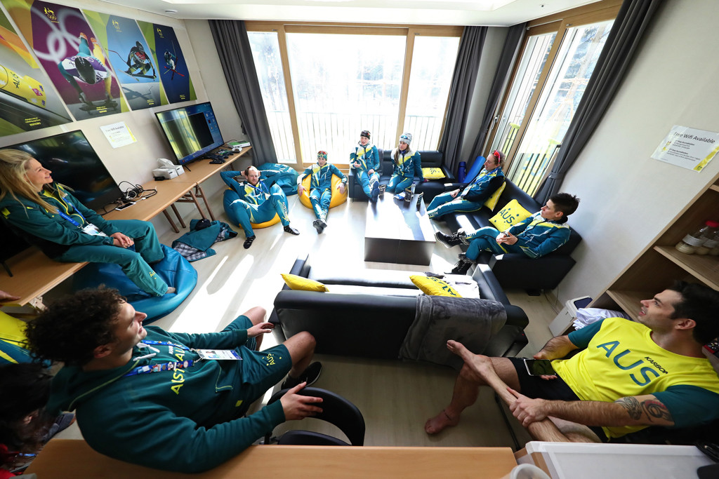 Pyeongchang, Olympic Villages, Team Australia, Lounge