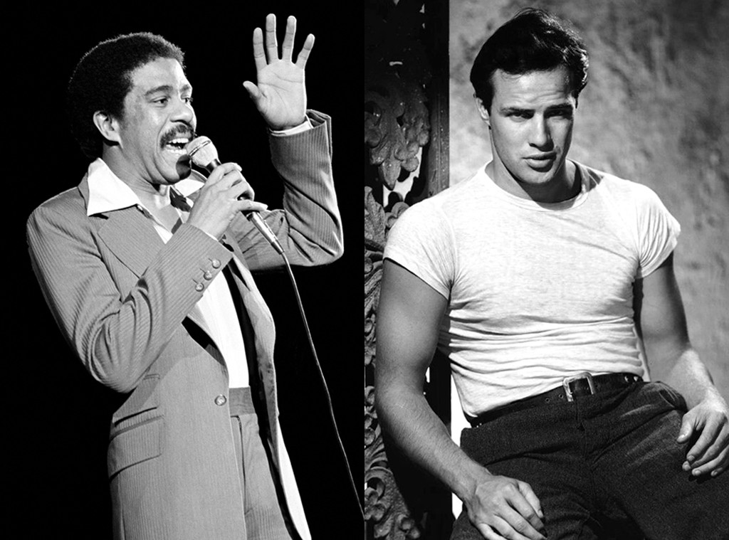 Richard Pryor, Marlon Brando