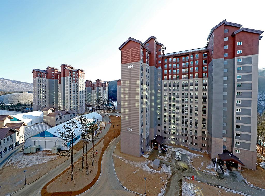 Pyeongchang, Olympic Villages, Exterior