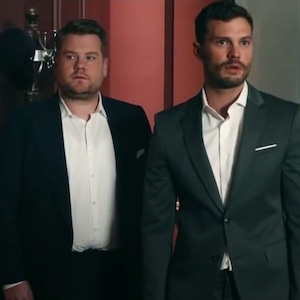 Jamie Dornan, James Corden, The Late Late Show