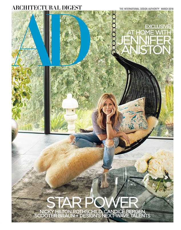 Jennifer Aniston, Architectural Digest