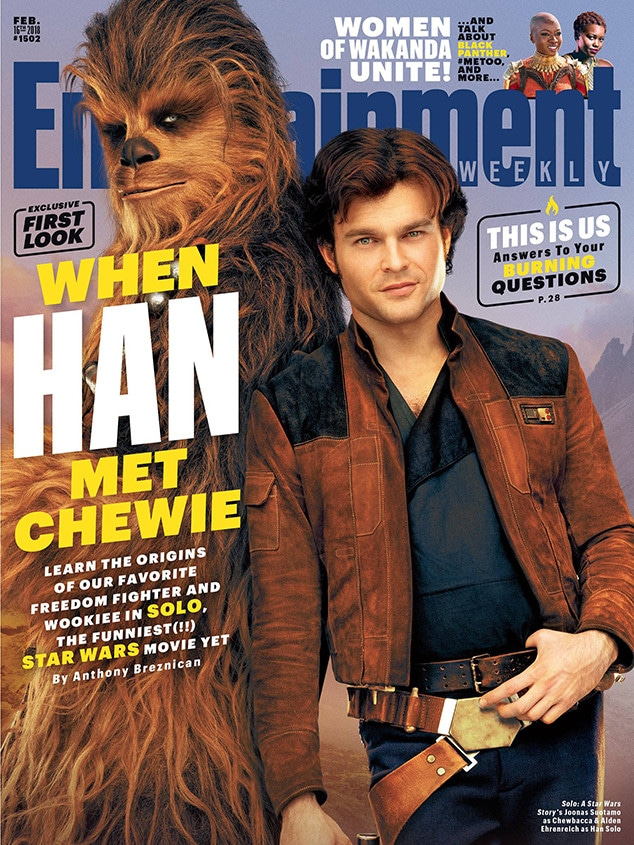 Solo: A Star Wars Story, Entertainment Weekly