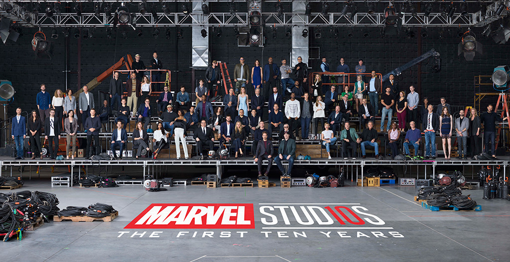 Marvel Cast Photo