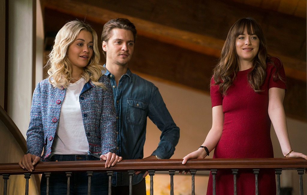 Hanging Out With The Co Stars From Fifty Shades Freed Movie Pics E Online