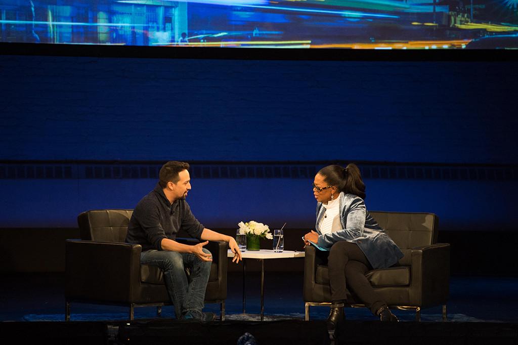Lin-Manuel Miranda, Oprah Winfrey, Super Soul Conversations