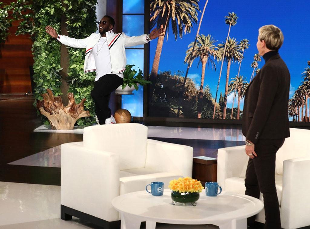"""Sean Diddy"""" Combs, Ellen DeGeneres"""