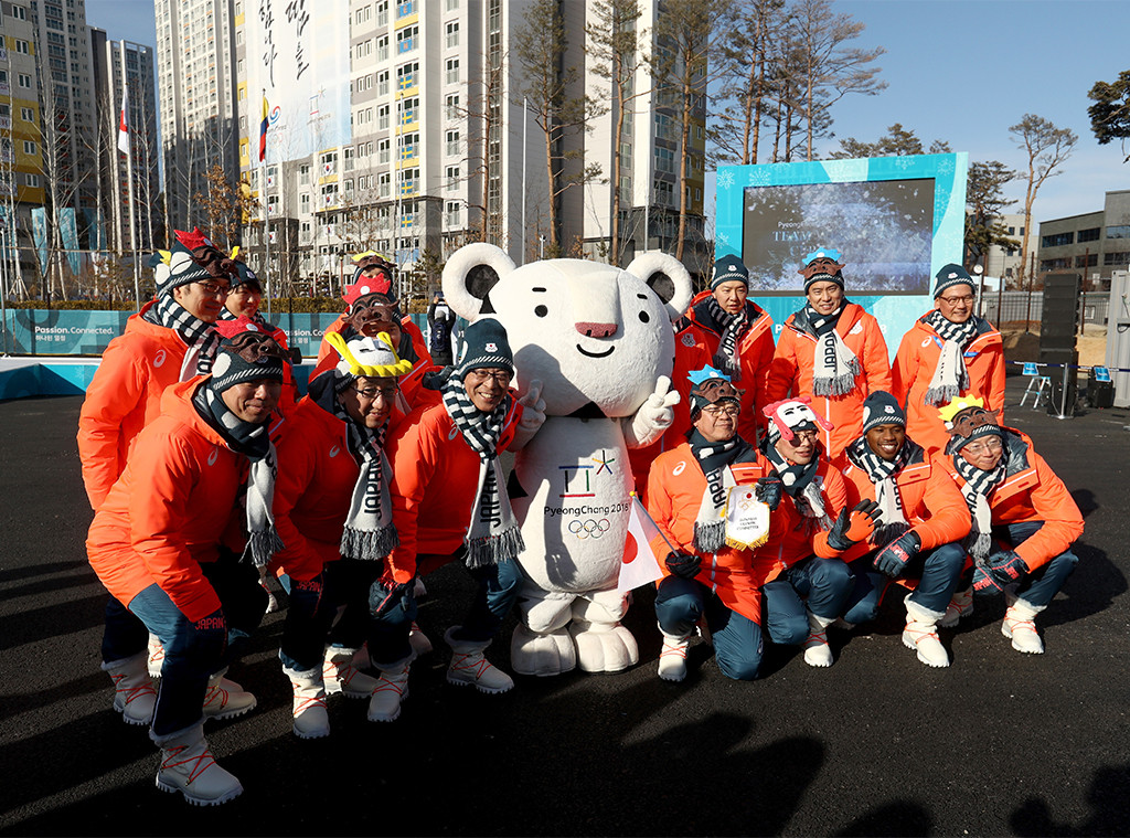 PyeongChang 2018 Winter Olympic Games, Gangneung Olympic Village, mascot Soohorang