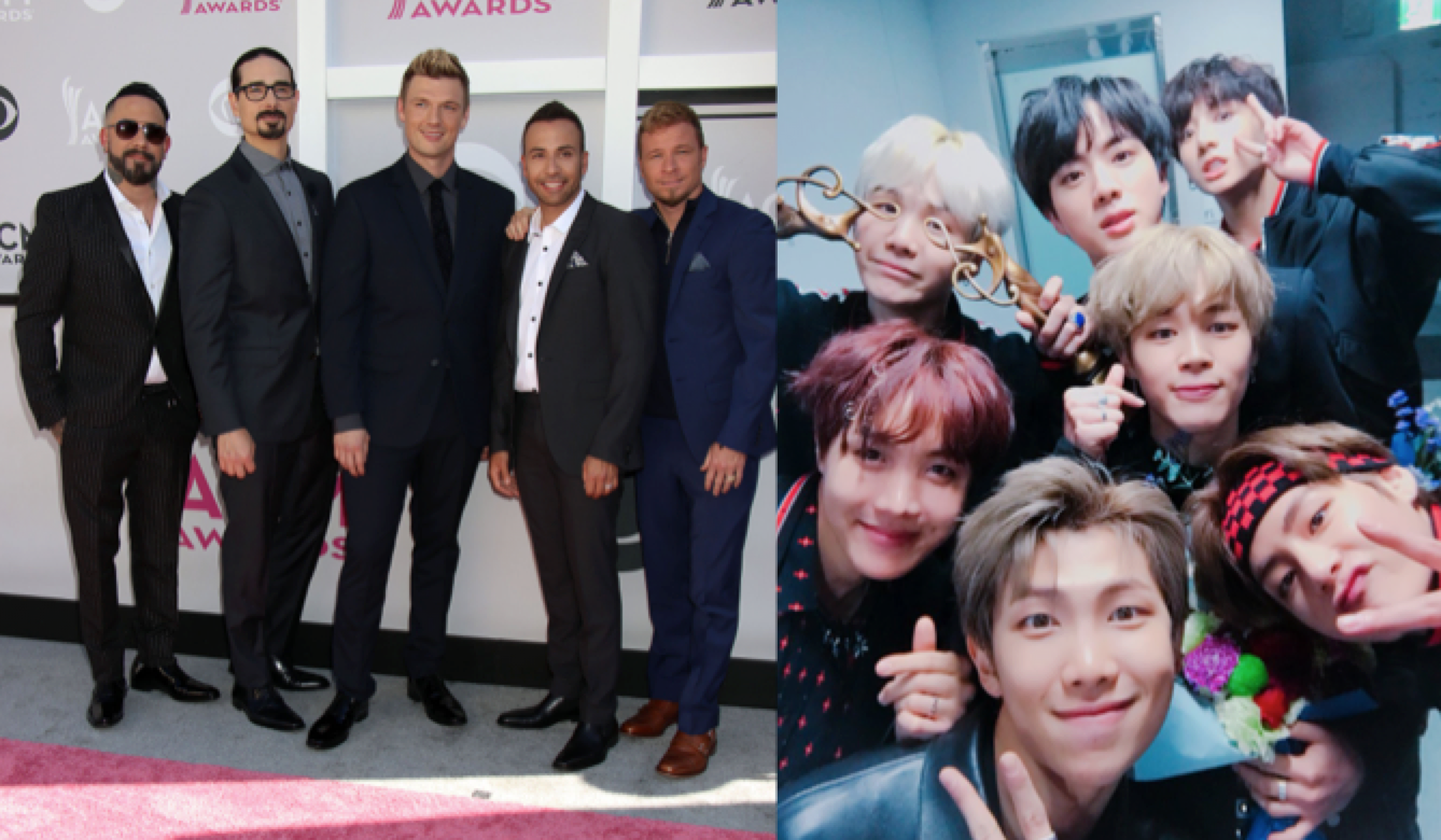 Backstreet Boys, BTS