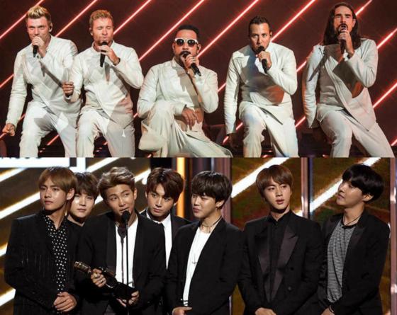 Backstreet Boys, BTS