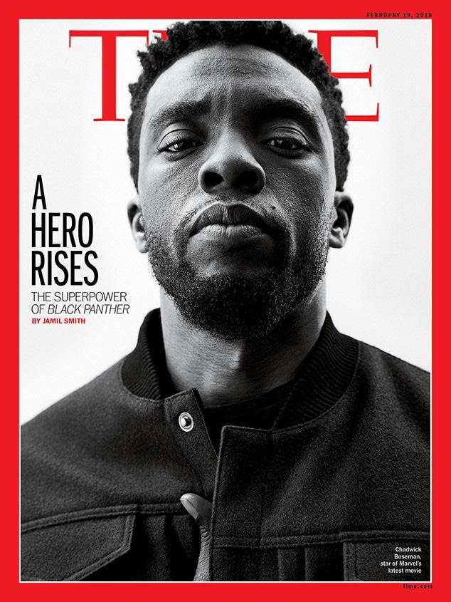 Chadwick Boseman, TIME