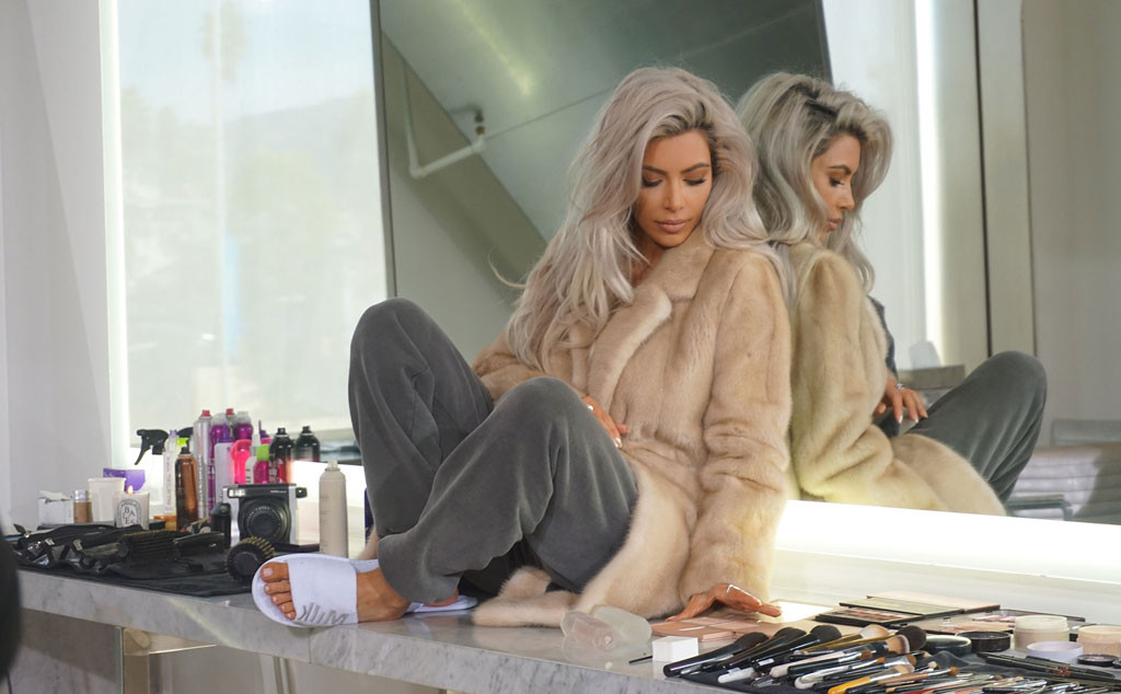 Kim Kardashian, Vogue Taiwan, Behind the Scenes