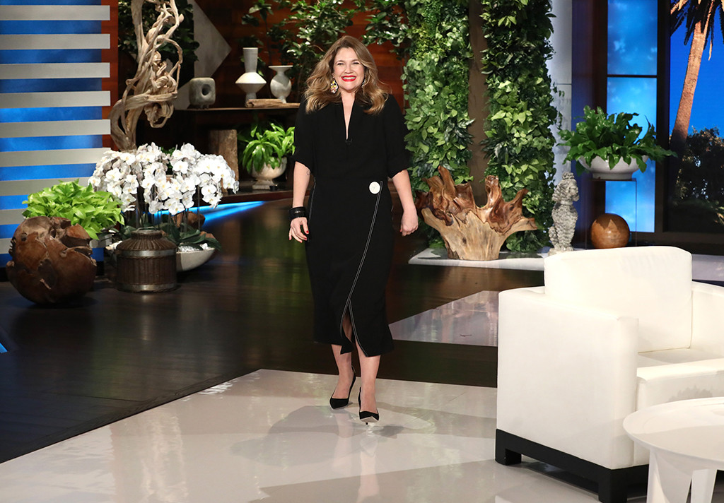 Drew Barrymore, The Ellen DeGeneres Show