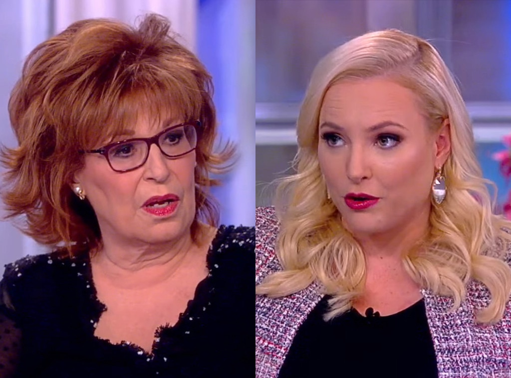 "Joy Behar vs. Meghan McCain, Part 3 -  Can't these two just get along? A conversation  on February 11 regarding Senator  Amy Klobuchar' s official presidential bid and President  Donald Trump 's subsequent tweets, McCain interjected while Behar was describing the President's interaction with the 2020 hopeful, saying, ""This is real."""