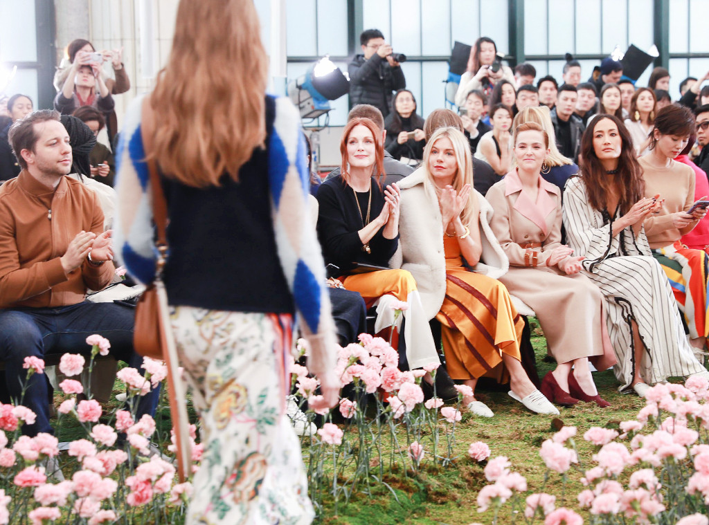 ESC: NYFW Front Row, Tory Burch