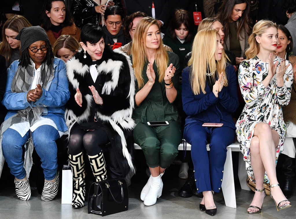 New York Fashion Week Fall 2018: See All The Celebrities ...