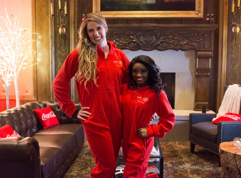 Simone Biles Amp Missy Franklin From Party Pics Global E