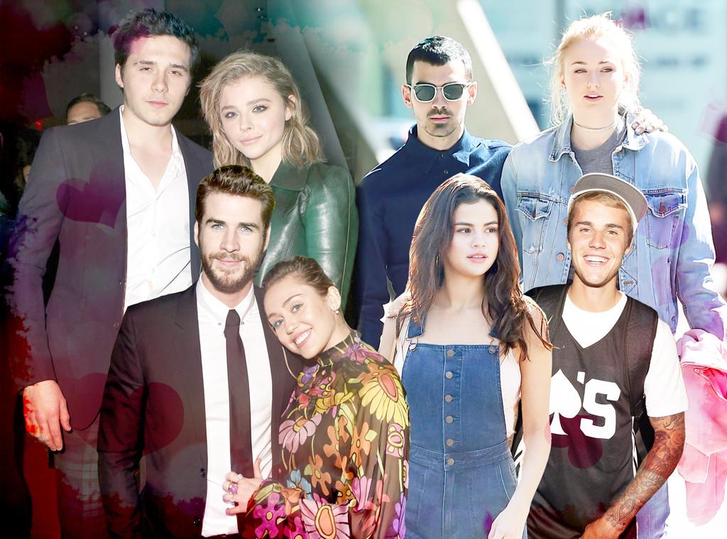 Couples Week, Young Love, Selena, Justin, Miley, Liam, Brooklyn, Chloe, Joe, Sophie