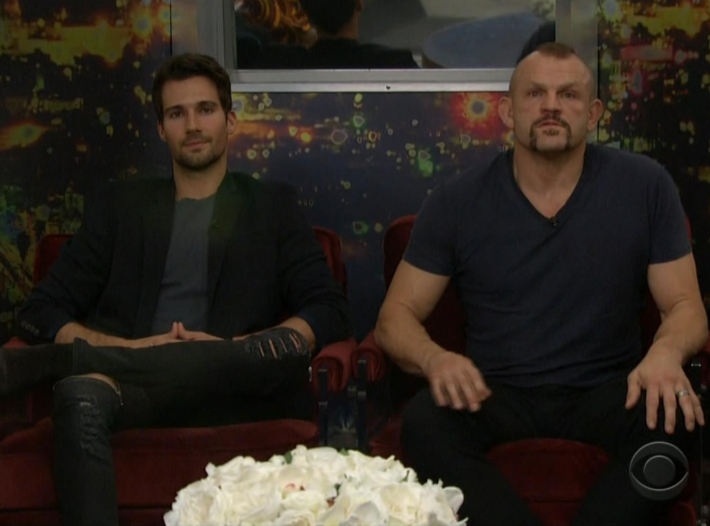 Chuck Liddell, James Maslow, Big Brother