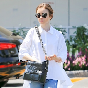 ESC: Lily Collins, Saturday Savings