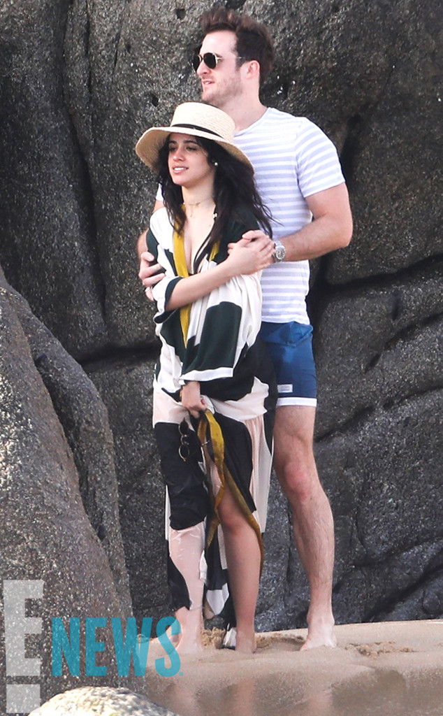 Camila Cabello and Dating Coach Matthew Hussey Pack on the PDA in