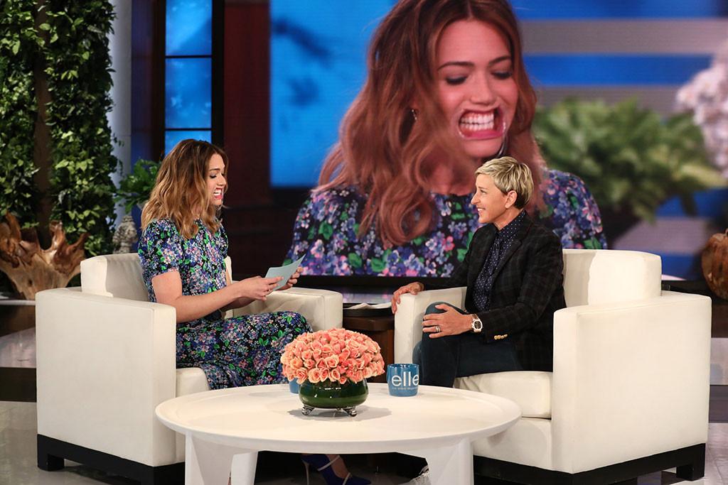 Mandy Moore, Ellen DeGeneres