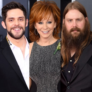 Thomas Rhett, Reba McEntire, Chris Stapleton