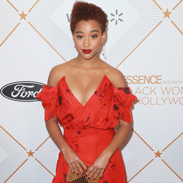 Amandla Steinberg, 2018 Essence Black Women In Hollywood Oscars Luncheon