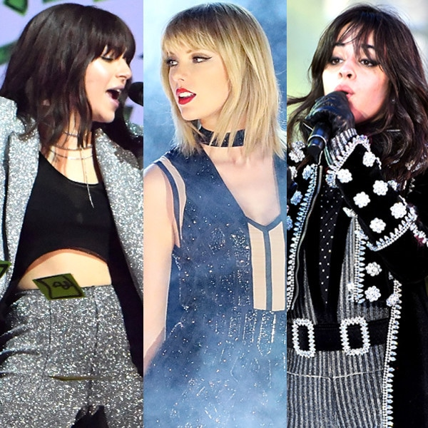 Charli XCX, Taylor Swift, Camila Cabello