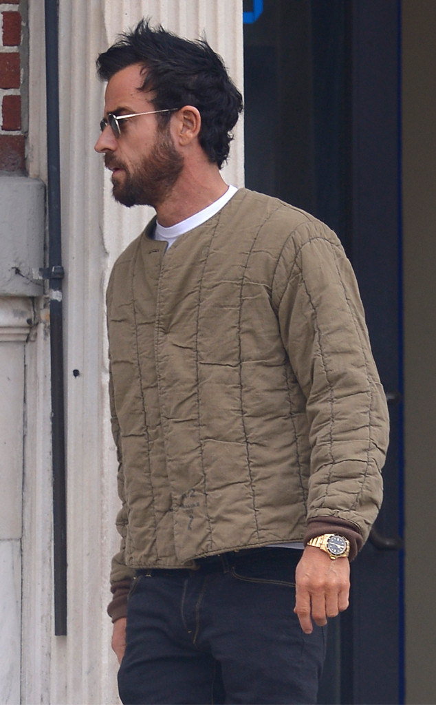 Justin Theroux, No Ring